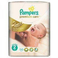 Pampers Памперс мини VP PremCare р-р 2 /3-6 кг./  50 бр.  0201657